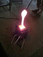 Fusão de metal liquido - Portal Temperatura