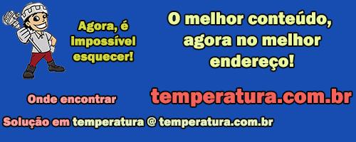 O melhor conteúdo em termometria industrial agora no melhor endereço da internet www.temperatura.com.br