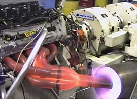 Termopares na indústria de teste motores