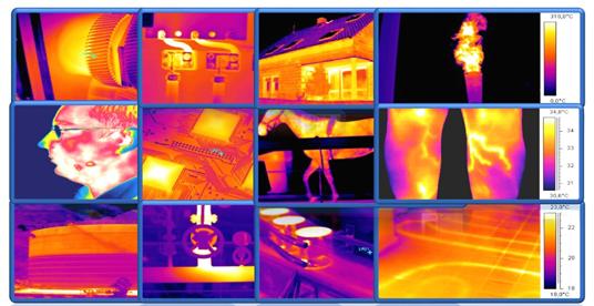 Câmera infravermelho térmica